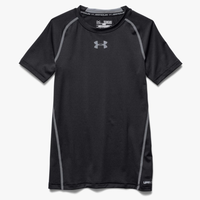 Under armour heatgear fitted armour t shirt junior 22 95 for Under armour fitted t shirt