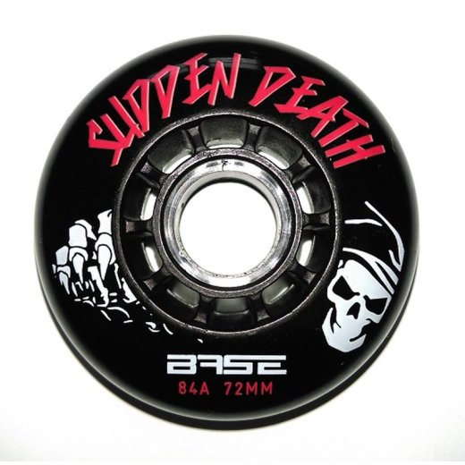 Base Outdoor PRO Sudden Death Wheels 84A - TOP DEAL 80mm...