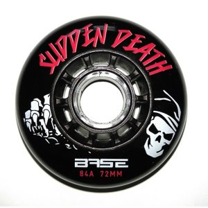 Base Outdoor PRO Sudden Death Rollen 84A - TOP DEAL 72mm