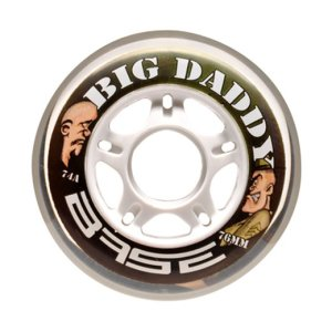 Base Indoor Rollen Big Daddy 74A - TOP DEAL 80mm