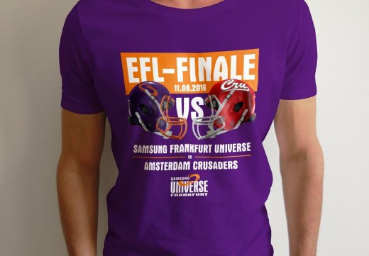 Frankfurt UNIVERSE GAMEDAY SHIRT EFL FINAL 2016