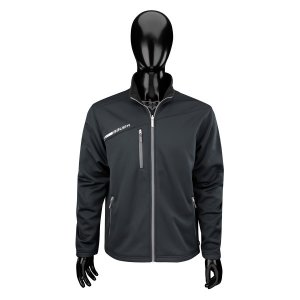 Bauer Flex Full Zip Tech Fleece Junior - schwarz XXS