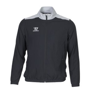 Warrior Alpha Präsentationsjacke Junior schwarz L