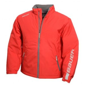 Bauer Winter Jacke rot Junior