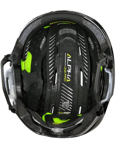 Warrior Alpha One Pro Helm Combo Senior