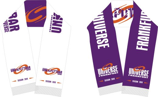 Frankfurt UNIVERSE Sublimationsschal 2019