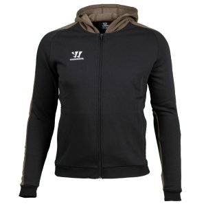 Warrior Covert Zip Hoody Senior 19/20 schwarz/braun  S