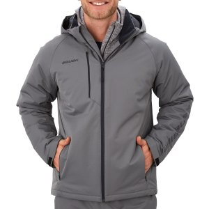 Bauer Heavyweight Jacke Supreme - grau - Senior S