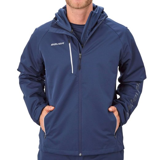 Bauer Lightweight Jacke Supreme - navy - Senior