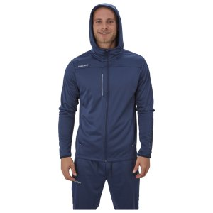 Bauer Vapor Fleece Zip Hoody Senior navy S
