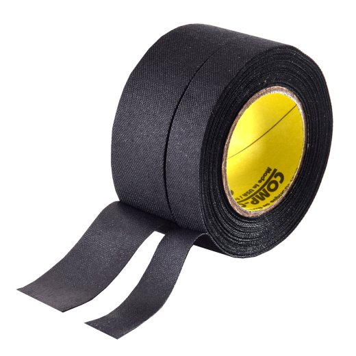 North American Tape Split Slit 24/12mm x 9m schwarz